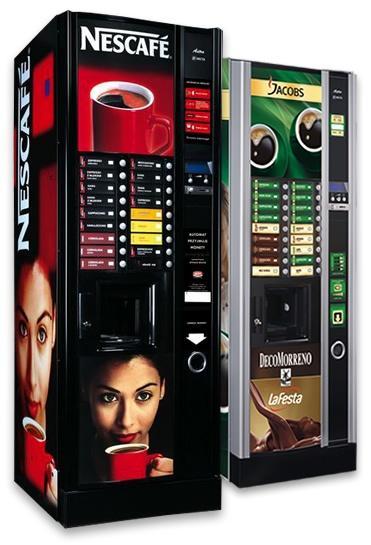 automat sprzedaj cy do kawy i gor cych napoj w astro. Black Bedroom Furniture Sets. Home Design Ideas