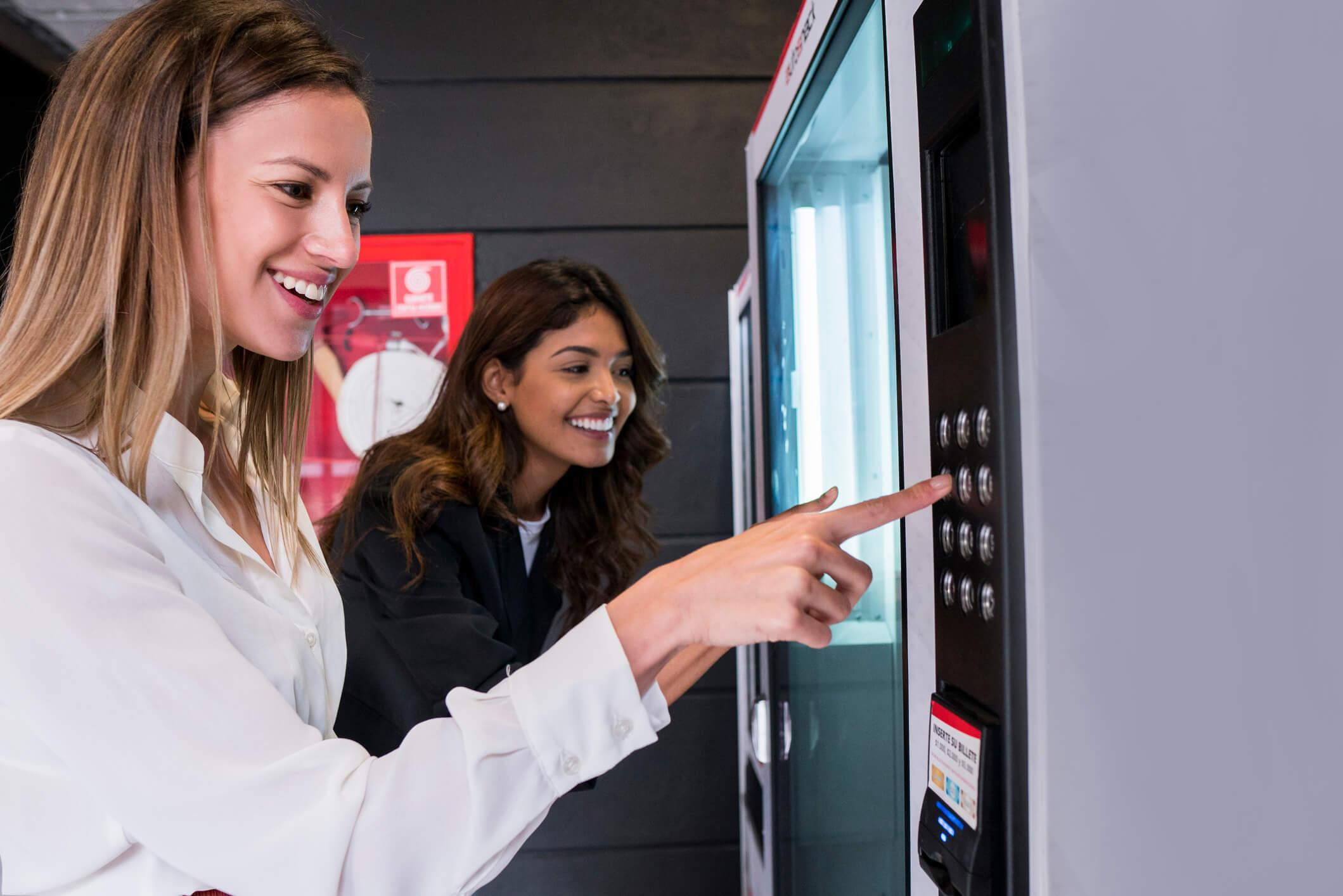 Automaty w biurach