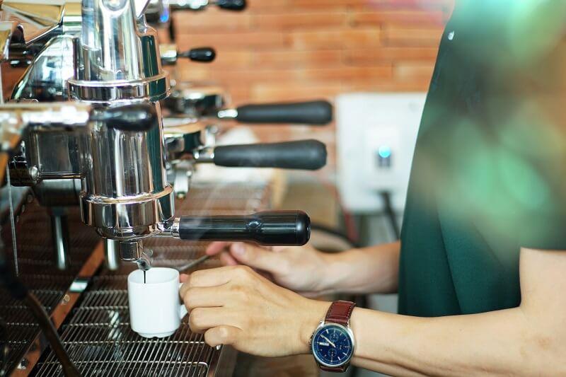 kawa z ekspressem
